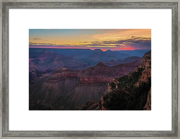 Grand Canyon Sunrise Framed Print