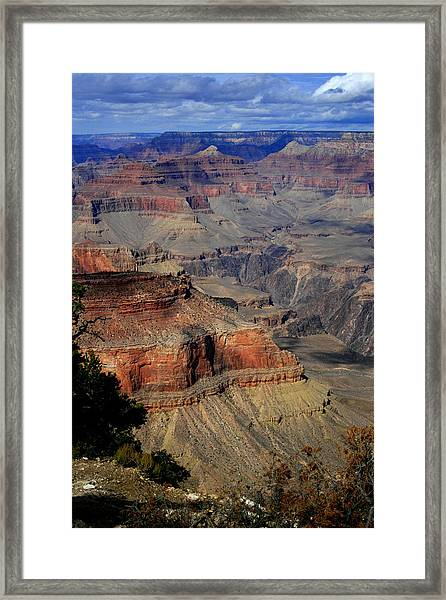 Grand Canyon Vastness Framed Print