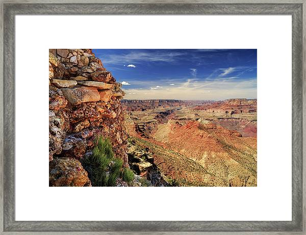 Grand Canyon Wall Framed Print