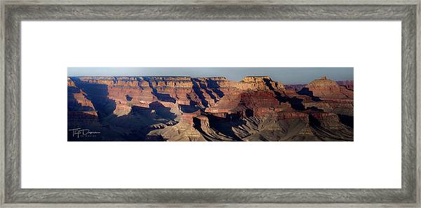 Grand Canyon Wide Framed Print