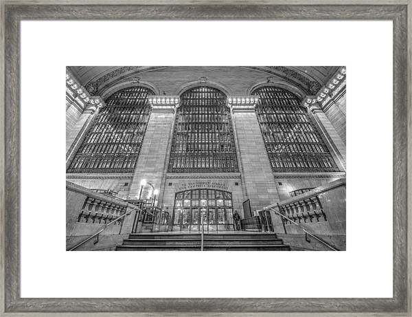 Grand Central Station Framed Print by Michael  Bennett