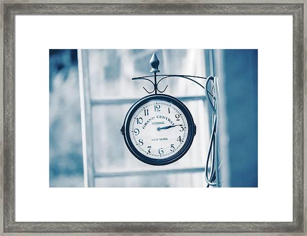 Grand Central Time 2 Framed Print
