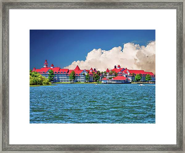 Grand Floridian Resort And Spa Framed Print