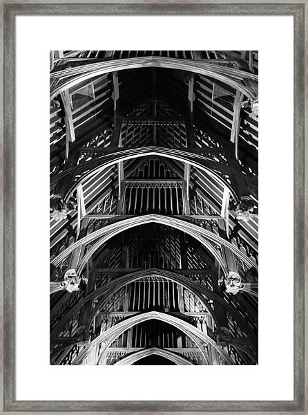 Grand Hall Ceiling Framed Print
