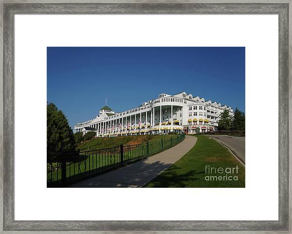 Grand Hotel Mackinac Island 2 Framed Print