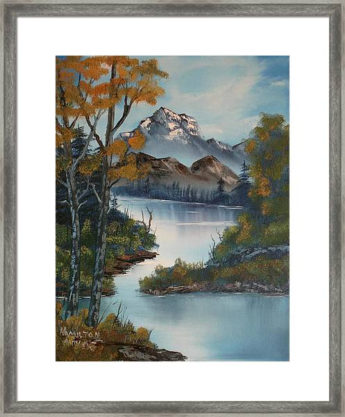 Grand Mountain Framed Print