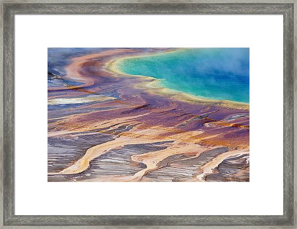 Grand Prismatic Spring 2 Framed Print