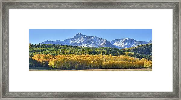 Grand Wilson Mesa Landscape Framed Print