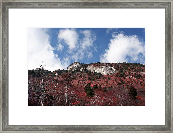 Grandfather Mountain East Side Framed Print