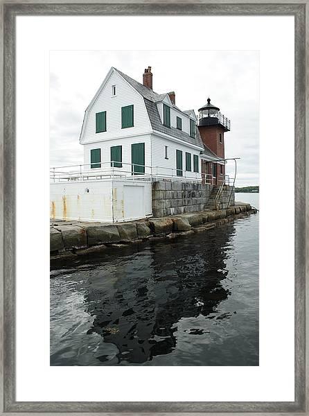 Grandfathers Lighthouse Framed Print