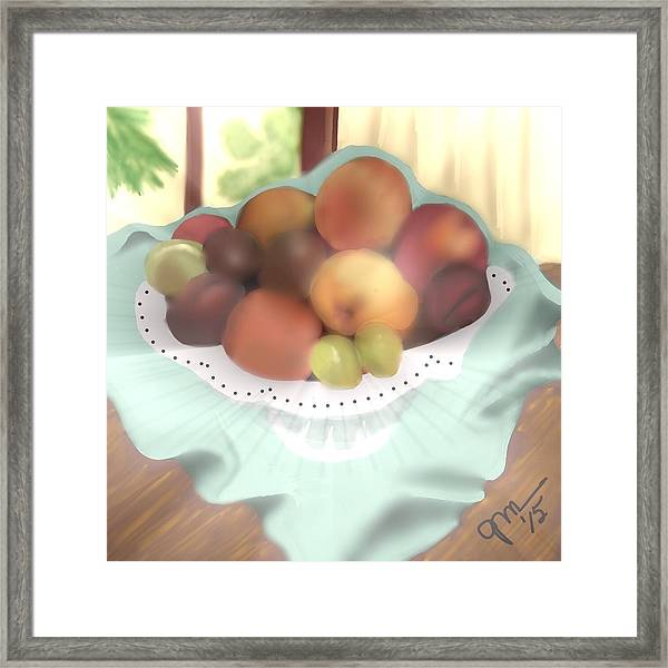 Grandma's Table Framed Print