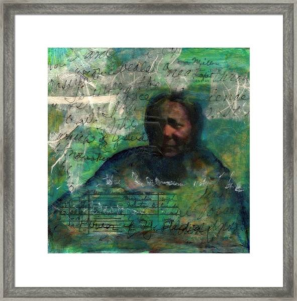 Grandmother Cora-study Framed Print
