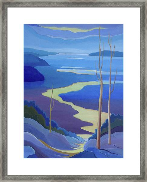 Grandview Framed Print