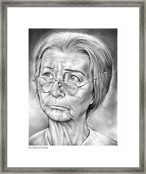 Granny Framed Print