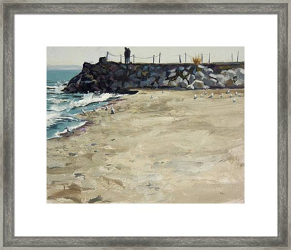Grant Park Beach No. 5 Framed Print by Anthony Sell