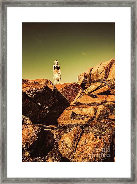 Granville Harbour Dreams Framed Print
