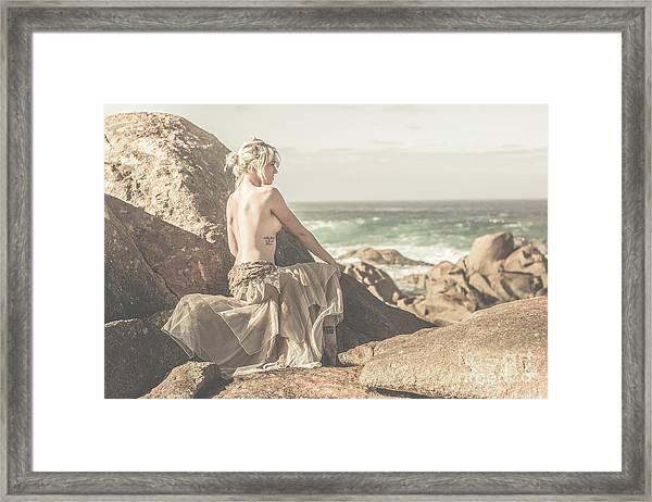 Granville Harbour Tasmania Fine Art Beauty Portrait Framed Print