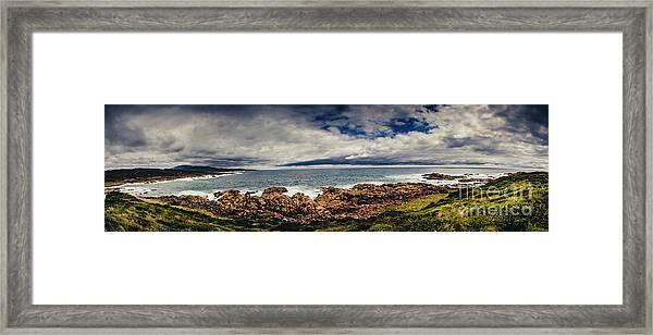 Granville Tasmania Panoramic Framed Print