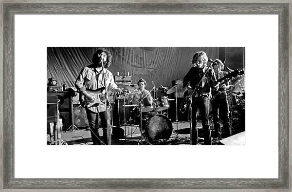 Grateful Dead In Concert - San Francisco 1969 Framed Print