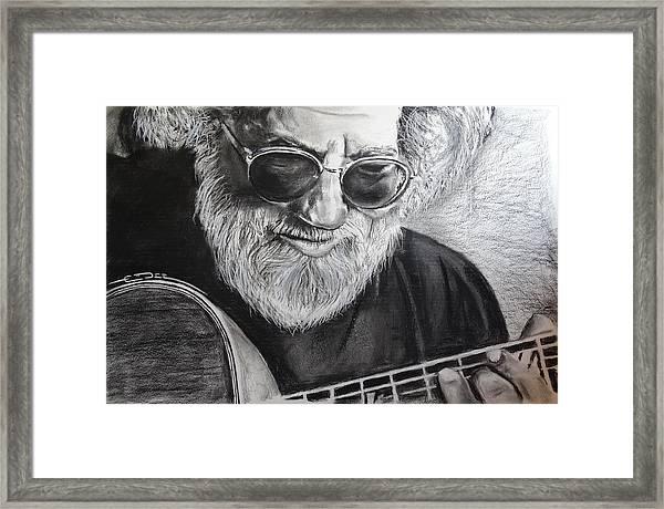Grateful Dude Framed Print