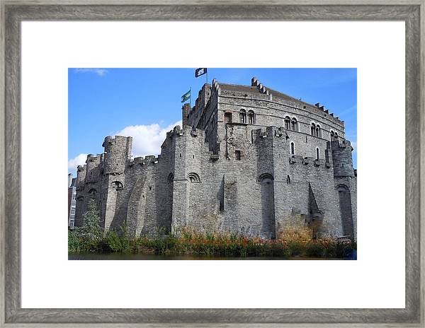Gravensteen Castle Gent Belgium Framed Print