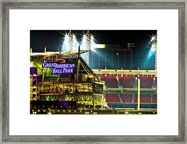 Great American Ballpark Framed Print