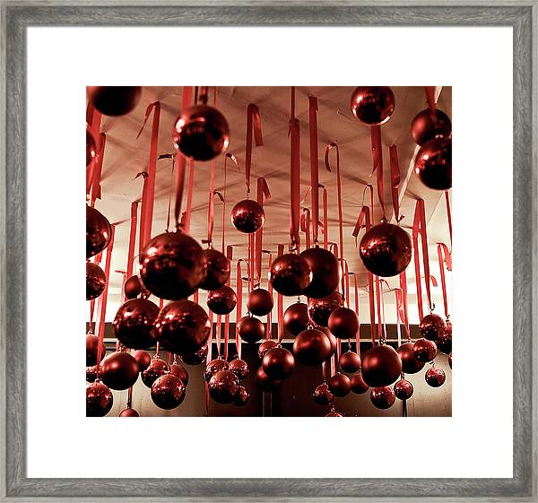 Framed Print featuring the photograph Great Balls Of Macy's by Lorraine Devon Wilke