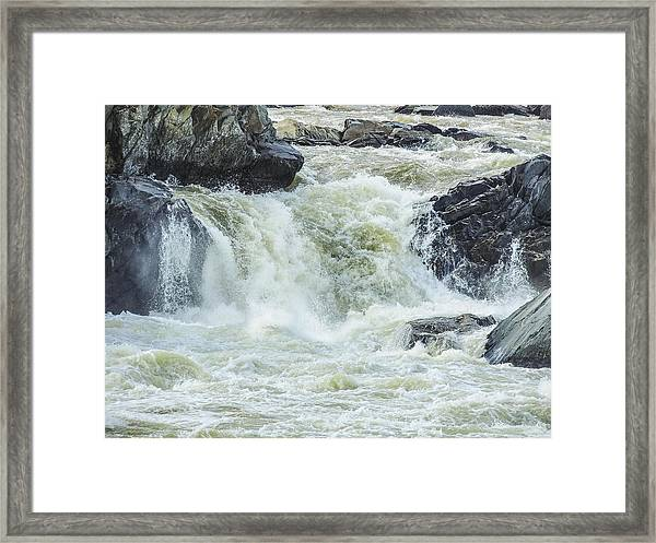 Great Falls Of The Potomac Framed Print