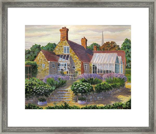 Great Houghton Cottage Framed Print
