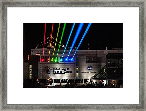 Great Lakes Science Center Framed Print