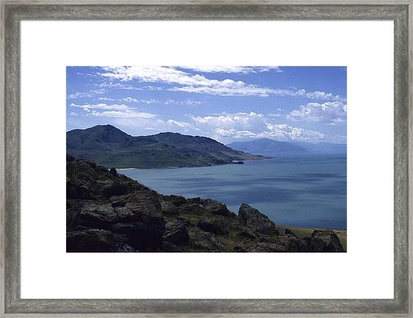 Great Salt Lake Framed Print