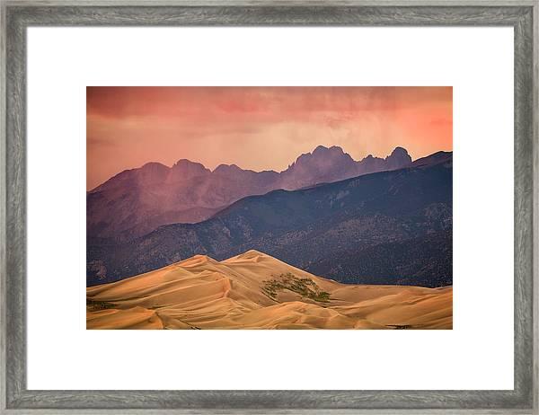 Great Sand Dunes Colorado Framed Print