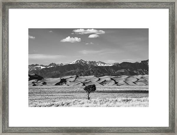 Great Sand Dunes Framed Print