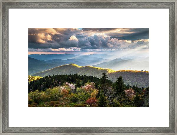 Great Smoky Mountains National Park - The Ridge Framed Print