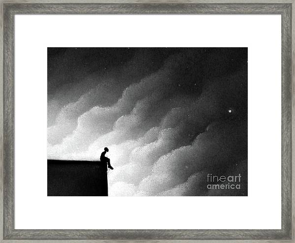 Great Strength Through Silence Framed Print