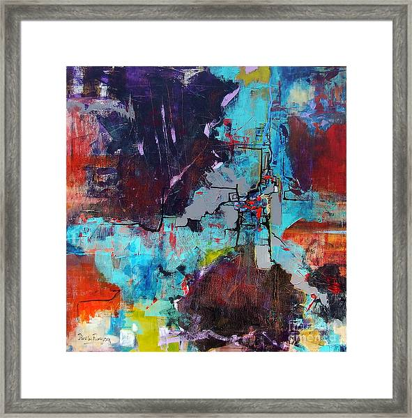 Greater London Framed Print by Jane Ferguson