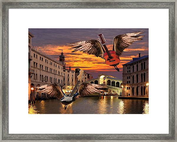 Framed Print featuring the digital art Greatest Love Of All by Eric Kempson