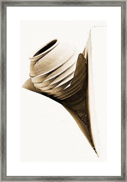 Greek Urn Framed Print