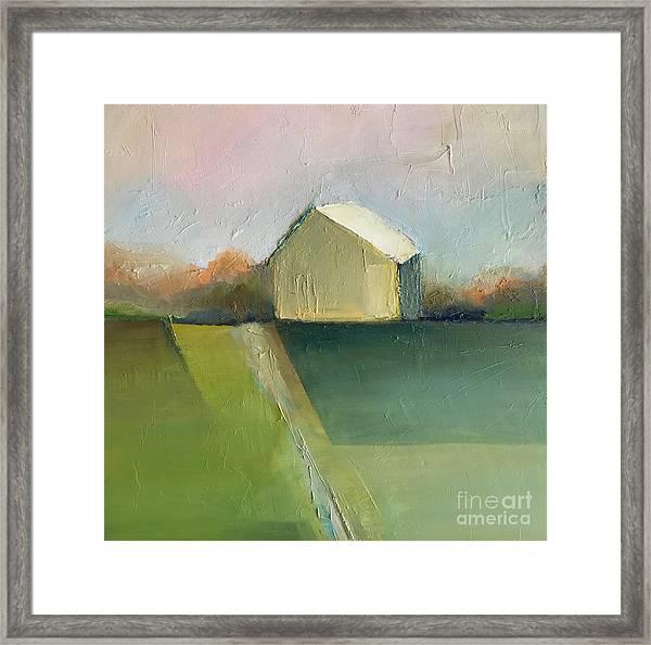 Green Field Framed Print
