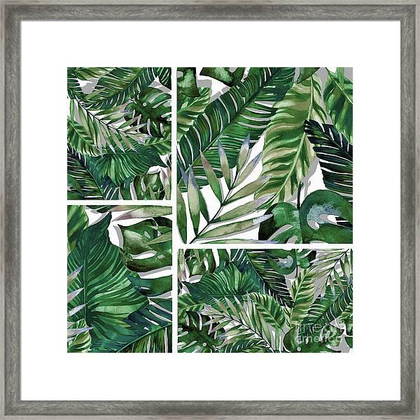 Green Life Framed Print