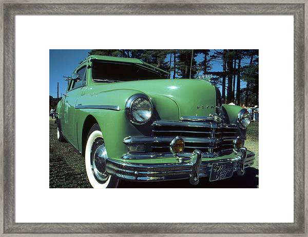 American Limousine 1957 - Historic Car Photo Framed Print