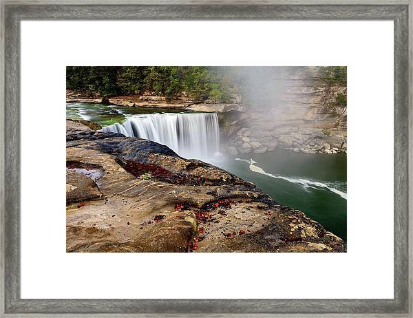 Green River Falls Framed Print