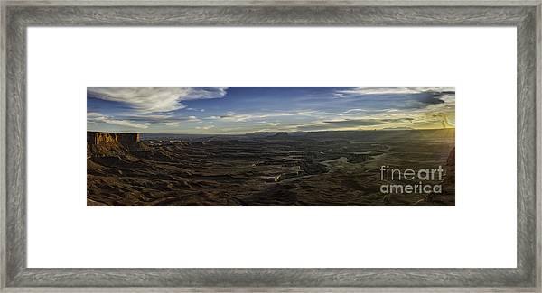 Green River Overlook Framed Print