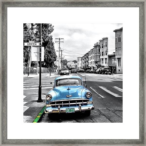 Green Street Framed Print