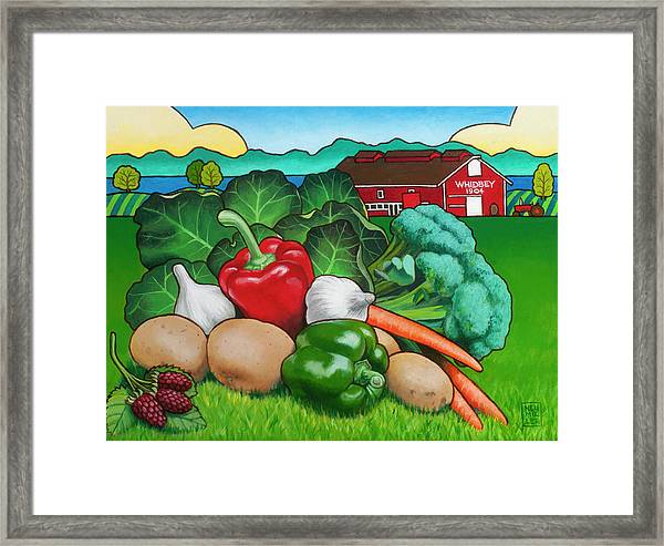 Greenbank Bounty Framed Print by Stacey Neumiller