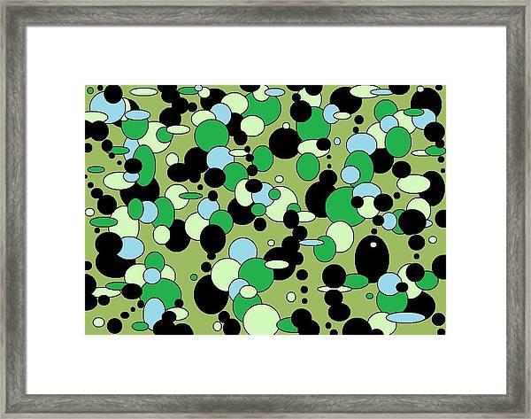 Greenies Framed Print