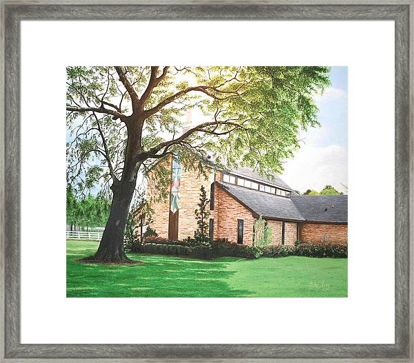 Greenwood Framed Print