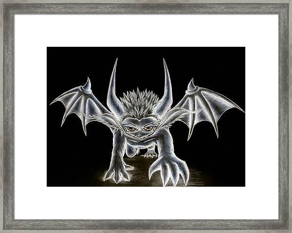 Grevil Pastel Framed Print
