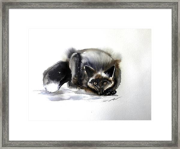 Grey Fox 1 Framed Print