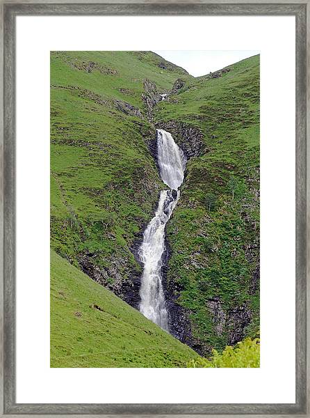 Grey Mare's Tail Framed Print